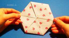 육각봉투접기, hexagon envelope origami