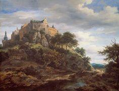 Jacob van Ruisdael - Gezicht op kasteel Bentheim