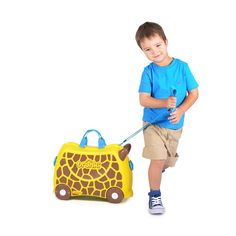 Trunki Tipu Tiger Ride On Suitcase - Buy Online Childrens Luggage ...