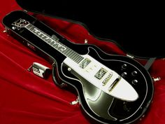 My Gibson Les Paul 1960 Tuxedo Corvette Guitar - for sale - $5,499.99