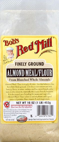 Gluten Free Bob's Red Mill Almond Flour
