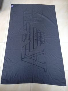 Emporio Armani Bath / Beach EA Towels Size XXL