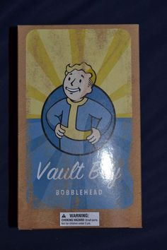 Fallout Vault Boy Bobble Head Loot Crate Exclusive (SEALED NEW)