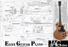 Plans to build a Les Paul Special