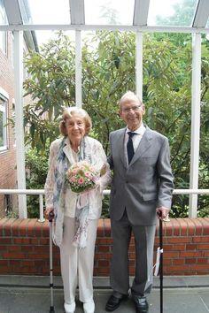 Das Brautpaar Edith und Alfons Vier Pressemitteilung vom 22.07.2016: Eine ungewöhnliche Hochzeit im Rathaus