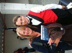Garrett and me at his final school concert