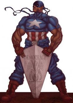 Isaiah Bradley, The Black Captain America