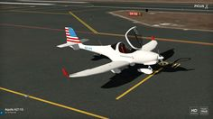 Aquila A211 with Garmin G500 American Airlines Livery