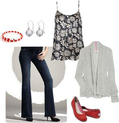 """""""navy and gray"""" by dana-6 on Polyvore"""