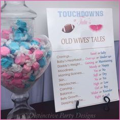 Touchdowns or Tutu's Gender Reveal Party Ideas | Photo 1 of 9