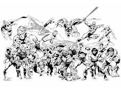 The Art of John Buscema Cover Art