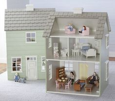 Westport Dollhouse | Pottery Barn Kids  I think I could DIY this... thinking cap on ;)