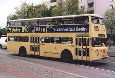 #Berlin (old) double decker bus