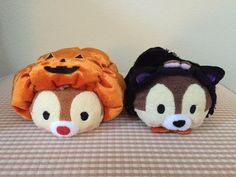 Authentic Japan Disney Tsum Tsum (S) Halloween Chip & Dale Candy Bag Plush…