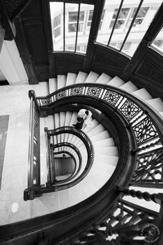 Staircase Rookery, Chicago Wedding