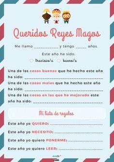 Look more at this website.  Escribir la carta a los reyes Magos