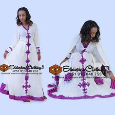 #habeshaculturedress #traditionalclothing #cottonfabric #axumfetel #ethiowomendress #Eritreanculturaldress #kemis #ashenda #traditionalwear #womenkemis Habesha Kemis, Eritrean, Ethiopian Traditional Dress, Traditional Dresses, Cotton Fabric, Culture, Celebrities, Clothing, How To Wear