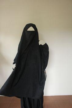 Transformer Jilbab, Mekkah, Madinah, Jilbab Makkah Set (French Khimar). French Khimar, Niqab, Niqob, Maxi dress