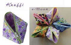 Taschen - Mäppchen Knuffi  -  Nähanleitung - ein Designerstück von chriss_m bei DaWanda