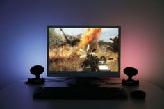 Reduce Eyestrain With a DIY Computer Screen Ambilight