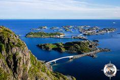 Henningsvær after the second bridge