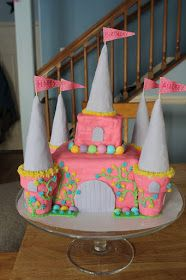 """My daughter turned four this week so I made her a cake for her very first """"friend"""" party. We are keeping it small and simple, a few of her ..."""