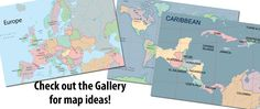 MapStudio - free online program to create custom maps for lessons
