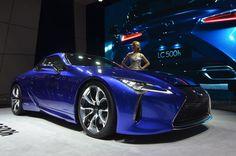 Geneva 2016: Lexus LC 500h
