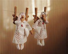 Куклы Тильды ручной работы. Ярмарка Мастеров - ручная работа Сонный ангел. Handmade.