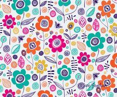 Bee Garden Pattern Jane Farnham Designs