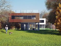 Oma Architecture, Pierre Koenig, Modern Family House, 3d Architectural Visualization, Rem Koolhaas, Ludwig Mies Van Der Rohe, Alvar Aalto, Le Corbusier, Classic House