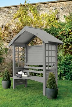 Cuprinol Muted Grey..this is the colour I want for my shed, with white trim...