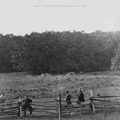 MEADOW OVER WHICH THE 2ND MASS INF AND 27TH INDIANA CHARGED ON THE MORNING OF JULY 3 1863 GETTYSBURG.