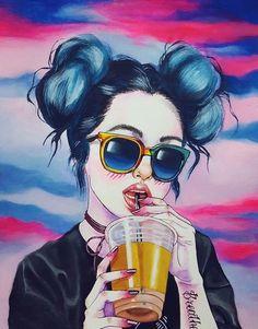 Pinturas de Harumi Hironaka. - Taringa!