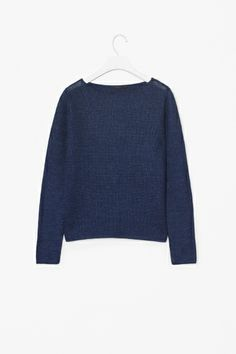 Linen knit jumper