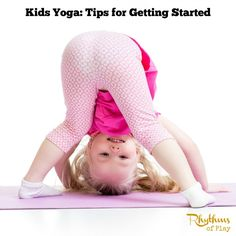 Kids yoga is a fun activity for kids. Even in a small space kids can get the exercise and stress release they need. This article contains tips for kids of all ages to get started with the practice of yoga. Even infants can get in on the fun! Kids Yoga Poses, Yoga For Kids, Exercise For Kids, Meditation Kids, Free Yoga Videos, Yoga For Stress Relief, Relaxing Yoga, How To Start Yoga, Kids Pants