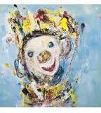 Bilderesultat for marianne aulie klovner Photo Art, Illustration Art, Canvas, Artwork, Painting, Clowns, Art Ideas, Fan, Heart