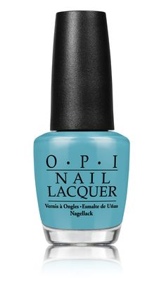 OPI nail lacquer matched to the colour of our limited edition turquoise hair removal laser 4X.