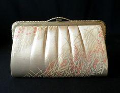Vintage Japanese Kimono  Clutch  Vintage by VintageFromJapan