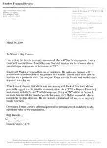 Recommendation Letter For Internship   Free Word Excel Pdf