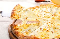 Recette facile et rapide de pizza 4 fromages | Easy and quick 4 cheese pizza recipe
