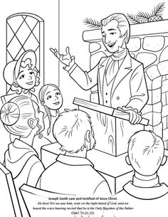 255 Best LDS Childrens Coloring Pages Images
