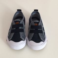 Check this item I am selling on Totspot, the resale shopping app for kids' clothes.   Tommy Hilfiger Boys Slip On Sneakers  Tommy Hilfiger  Love this! #kidsfashion
