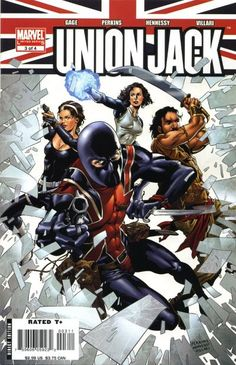 union jack marvel comics | Union Jack Vol 2 3 - Marvel Comics Database