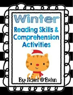 This winter FREEBIE pack has a fun and interesting story that is accompanied by an assortment of reading comprehension activities. Great for use in small group, reading centers, or independent practice! I'd really appreciate feedback if you find this freebie useful.