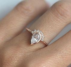 Moissanite Engagemen