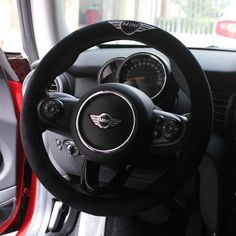 Awesome Cars girly 2017: Angel Wing Mini Cooper Countryman Steering wheel cover...  Girly Car Accessories For Mini Cooper/clubman/countryman. Check more at http://autoboard.pro/2017/2017/07/28/cars-girly-2017-angel-wing-mini-cooper-countryman-steering-wheel-cover-girly-car-accessories-for-mini-cooperclubmancountryman/