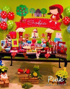 Simplesmente sou apaixonada por este tema.Hoje no blog tem esta perfeição de Festa Chapeuzinho Vermelho.Imagens Pink Atelie de Festas.Lindas ideias e muita inspiração.Bjs, Fabíola Teles.Mais i...