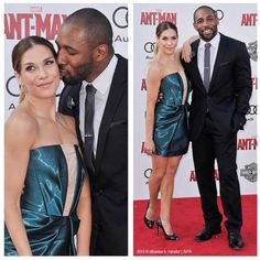 Antman Premiere Allison Holker and Twitch