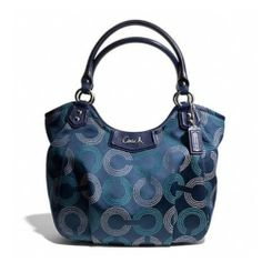Coach NWT Ashley Dotted Op Art Shoulder Tote. Starting at $10 on Tophatter.com! Fashion Bags, Fashion Accessories, Op Art, Balenciaga City Bag, Coach Handbags, Purse Wallet, Timeless Fashion, Luxury Branding, Purses And Bags